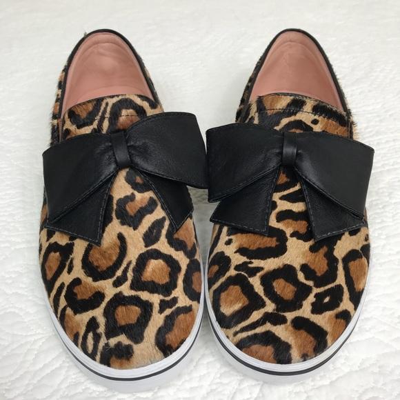 1eabf002dbf8 kate spade Shoes - NEW KATE SPADE NEW YORK LEOPARD CALF FUR SHOE 10